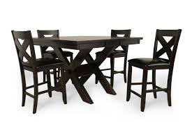 Mathis Brothers Patio Furniture by Winners Only Edgewater Espresso Five Piece Pub Set Mathis