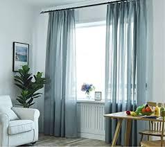 de woaim vorhang transparent gardine voile gardinen