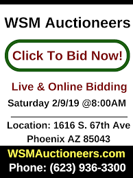 Phoenix Auctioneer | Auction House | Auction Company | WSM Auctioneers Camelback Ford New Used Cars Trucks Suvs Vans Phoenix Craigslist By Owner Best Car Reviews 1920 By And Az Update Phx For Sale Image 2018 Korean Ssayong Actyon Sport Truck For On 12v Max Lithium 38 In Cordless Xtreme Torque Ratchet Wrench Kit Nationwide Autotrader