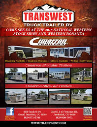 100 Transwest Truck Trailer Rv JanFeb 2016 Stock Show Edition By Brian Reid Issuu
