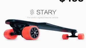 STARY – The Lightest And Most Affordable Electric Skateboard By ...