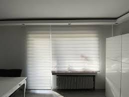 2x doppelrollo gardinen wohnzimmer zebra neuwertig soluna vorhang