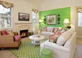 living room use of green in the modern living room mint