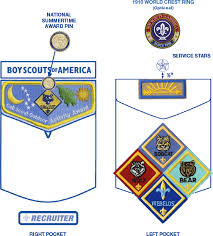 Cub Scout Committee Chair Patch Placement by Edmonds Lynnwood Cub Scout Pack 331