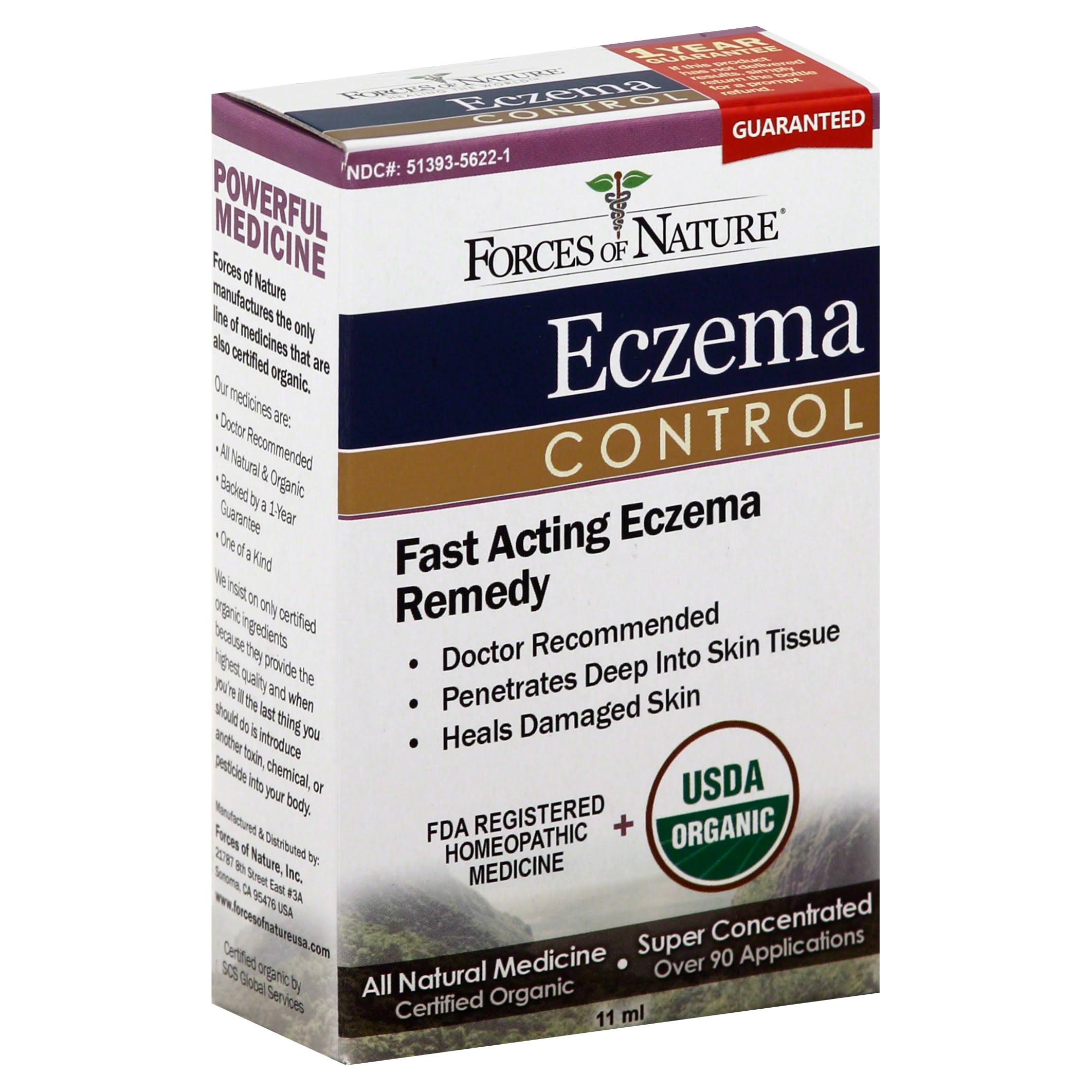 Forces of Nature Eczema Control - 11ml