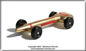 Standard Missile Pinewood Derby Car Design