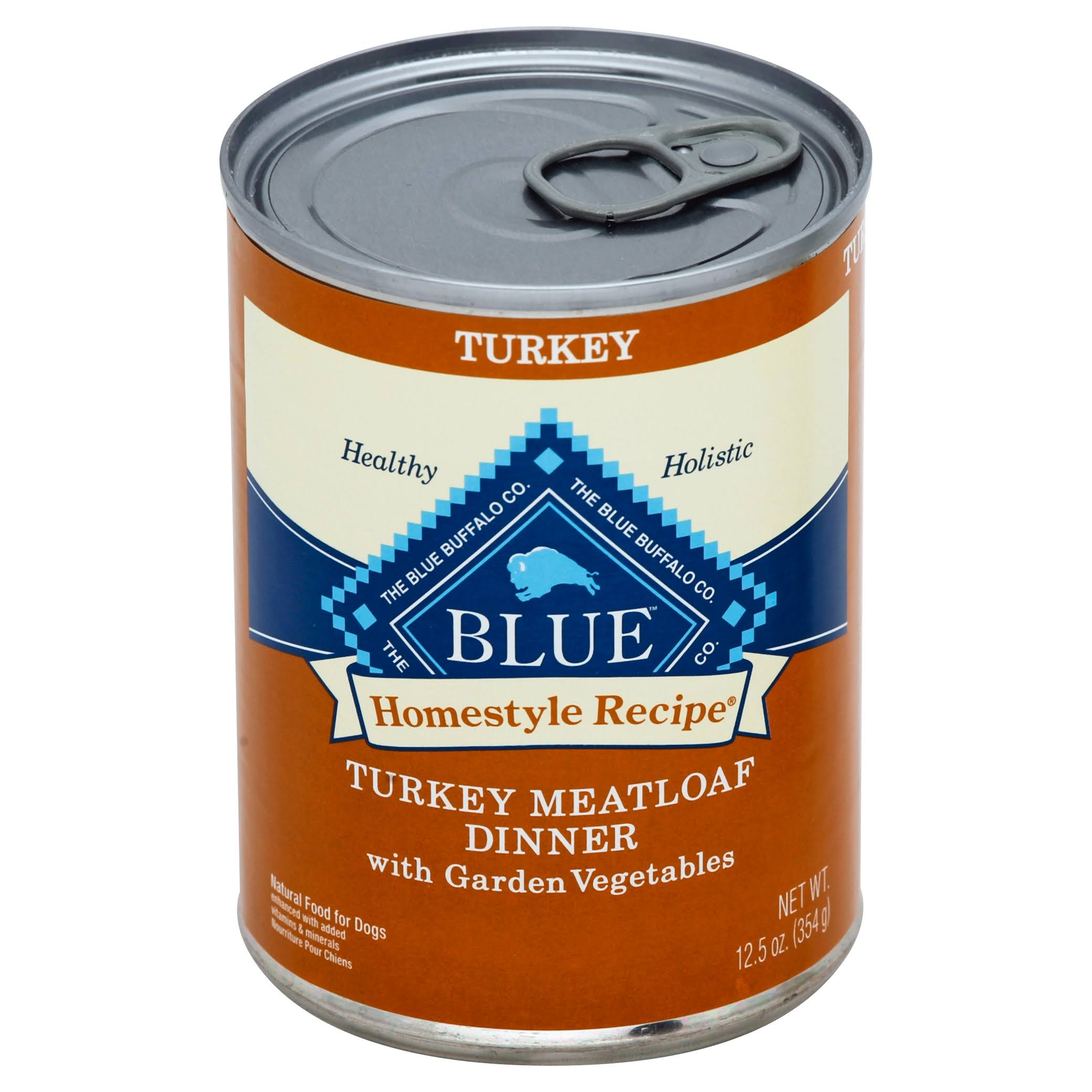 Blue Buffalo Homestyle Recipe Canned Dog Food - Turkey Meatloaf Dinner