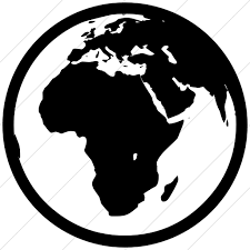 Classica Earth Europe Africa Icon  Style Simple Black