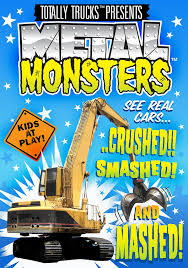 Amazon.com: Totally Trucks: Metal Monsters: N/a, Haim Silberstein ...