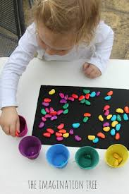 Sorting Coloured Magic Beans Activity 666x1000 Open Ended
