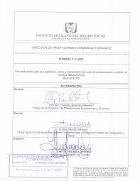 Formato De Devolución De IMSS