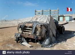 100 Lobos Truck Abandoned Isla De Tierra Peru Stock Photo 213048423