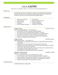 Sales Associate Resume Skills Freight Sample Retail Qualifications