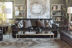 Bernhardt Upholstery Foster Sofa by Bernhardt Foster Leather Mocha Sofa Mathis Brothers Furniture