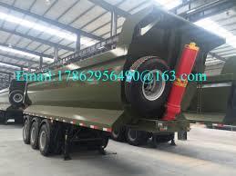 100 Semi Truck Trailers 45 Ton Pay Load Dump Tri Axle Dump