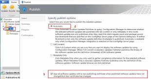 Make Sure You Select The Checkbox On Bottom Of SCUP Publish Wizard Is To Sign All Software Updates With A New Publishing Certificate