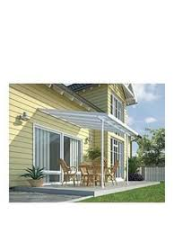 Palram Patio Cover Grey by Palram Sierra Patio Cover Grey Clear 9240mm X Times Uk
