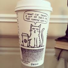 This Guys Starbucks Coffee Cup Cartoons Will Perk Up Your Day