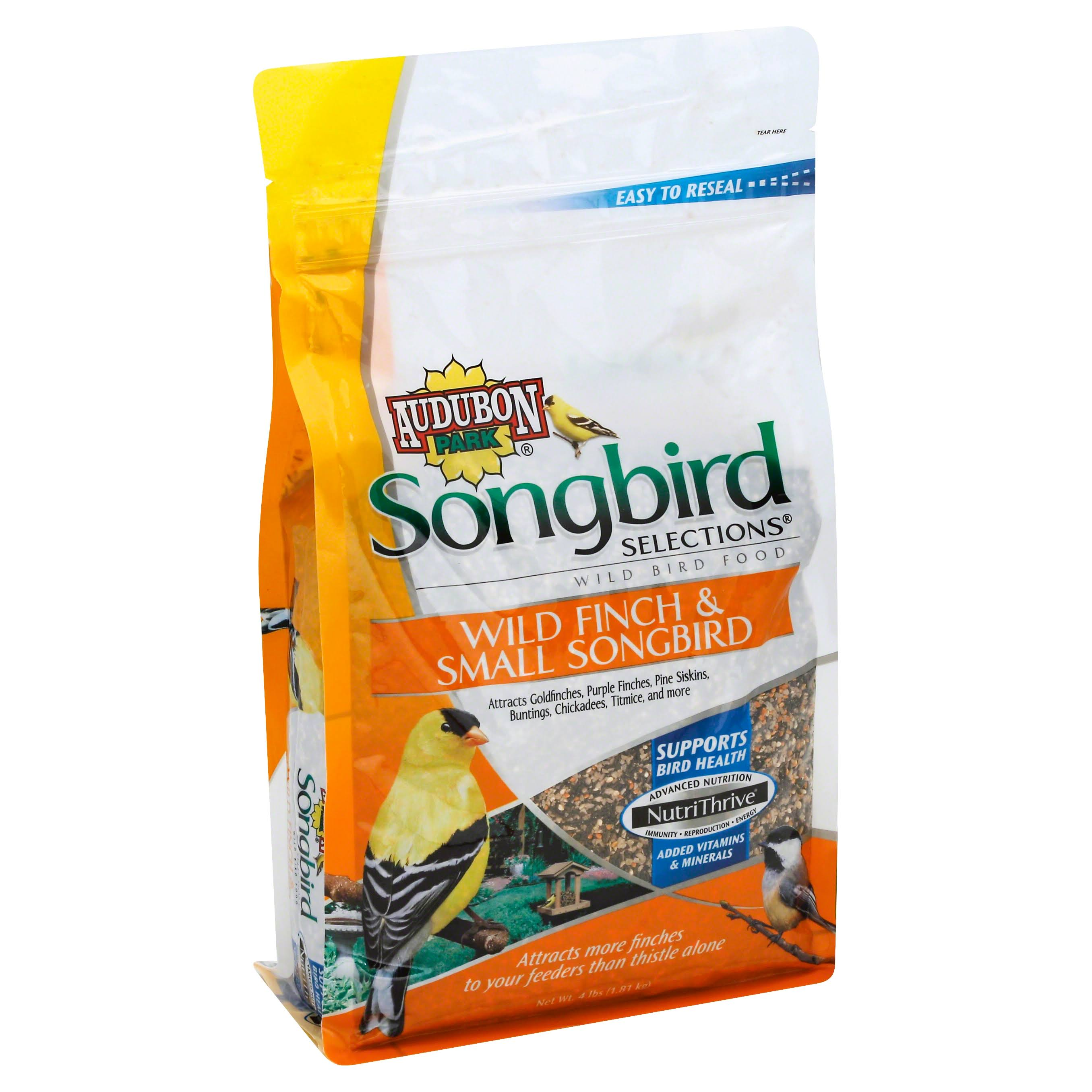 Songbird Selections 11978 Wild Finch and Small Songbird Wild Bird Food - 4lb