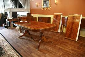 High End Large Mahogany Dining Table Seats 12 To 14 People