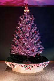 Evergleam Pink Aluminum Christmas Tree by Kansas City Spaces