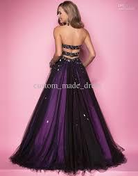 black purple prom dress prom dress style