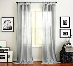Pottery Barn Outdoor Curtains by Sheer Curtains U0026 Window Sheers Pottery Barn
