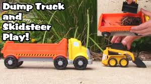 Toy Truck Video - Dump Truck Toy Skidsteer And Airplanes! L Garbage ... Blaze The Monster Machines Trucks Assortment 1900 Hamleys Big Daddy Rig Tool Master Transport Toy Truck Carrier With More Images Of Troys Toys M2machines Cars And Disney Diecast Semi Hauler Jeep 2152 Wooden Plans To Be Vets Garage On A Mission To Build Wooden Toy Trucks For The Abc Espisodes Over 1 Hour Tonka Americas Favorite Trend Legends City Fort Lauderdale Fl Extravaganza No Hess Best Resource