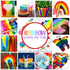 Rainbow Craft Ideas For Kids A Selection Of Easy Crafts Fun Activities