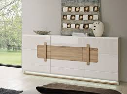 sideboard kommode wohnzimmer weiß sonoma eiche inkl beleuchtung