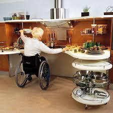 des cuisines aménagées pour les personnes handicapées