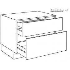 meuble bas de cuisine 120 cm meuble bas 120 cm cuisine kirafes