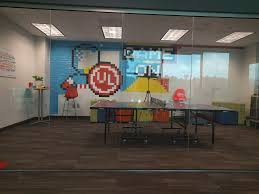 ping pong breakroom with a wo underwriters laboratories
