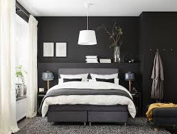 dunkles schlafzimmer stilvoll und modern dunkles