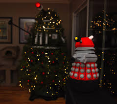 Dr Who Dalek Christmas Tree by Dalek Tree Could Exterminate Christmas If It Wanted To Cnet