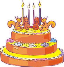Animated Birthday Cake Clipart 1