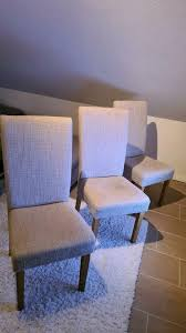 3 stück moderne stühle beige esszimmer küche oder wohnzimmer