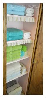 Project Linen Closet Reveal pretty and organized } Fox Hollow