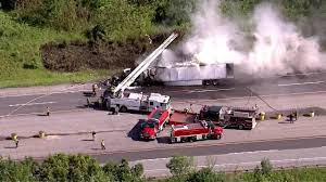 Man Killed In Fiery Semi Crash On Indiana Tollway ID'd | Abc7chicago.com All Escape Unharmed After Fiery Semi Crash On I696 At Woodward Truck Caused By Foggy Weather On Highway 41 In Kings 6 Cars Crash Juring 8 Tristate Tollway Near Gurnee Crashes Accidents Youtube Leelanau County Semitruck Caught Camera Northern Police Driver Falls Asleep And Crashes Dumps 46000 Pounds Of Lumber Wolf Creek Pass Cause Train Vs Semi Truck Stevens Point Still Under Truck Crash Compilation Semi Trucks Driving Fails Car Crashes In Sheriff Driver Says Brakes Failed Before Fatal Wis