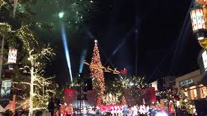 2015 Christmas Tree Lighting At The Grove In Los Angeles