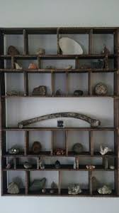 Diy Rock Collection Shelf CollectionDisplay ShelvesMineralShelfExhibition StandsShelvesShelving UnitsShelvingMinerals