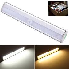 led bar light wireless pir motion sensor l cabinet