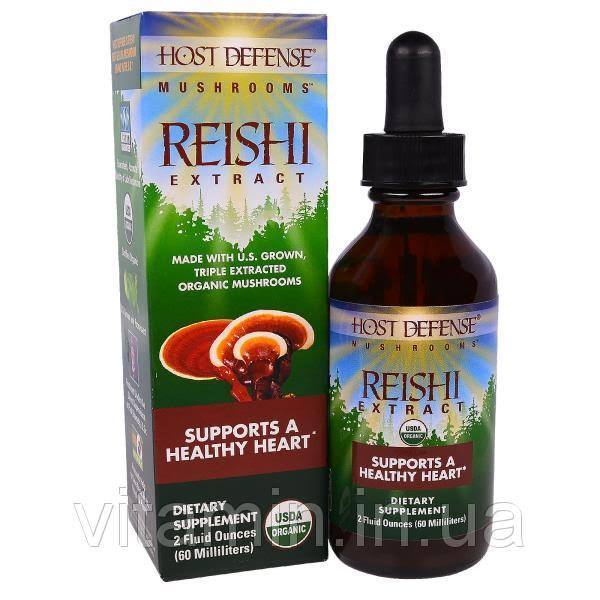 Reishi Ganoderma Lucidum Host Defense Liquid - 2oz