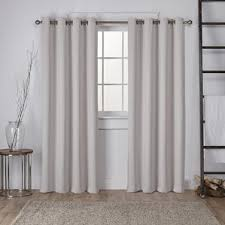 Brylane Home Lighted Curtains by Ivory And Cream Curtains U0026 Drapes You U0027ll Love Wayfair