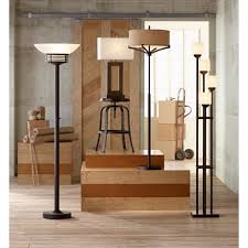 Franklin Iron Works Floor Lamp by Franklin Iron Works Tremont Floor Lamp With Burlap Shade U2013 Airbnbish