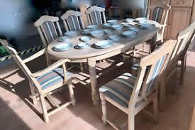 hochwertiger esszimmer esstisch tisch 8 stühle neuwertig ebay