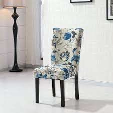 Navy Blue Upholstered Dining Room Chairs Fabric Chair Covers