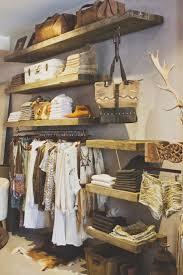 Love The Rustic Wood Shelves