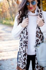 leopard print scarf a southern drawl