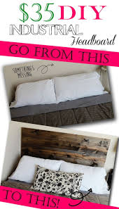 Raymour And Flanigan Tufted Headboard by Best 25 Industrial Headboards Ideas Only On Pinterest Rustic